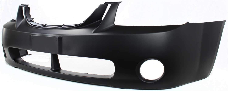 Front Bumper Cover For 2004-2006 Kia Spectra New Body Style Primed Plastic