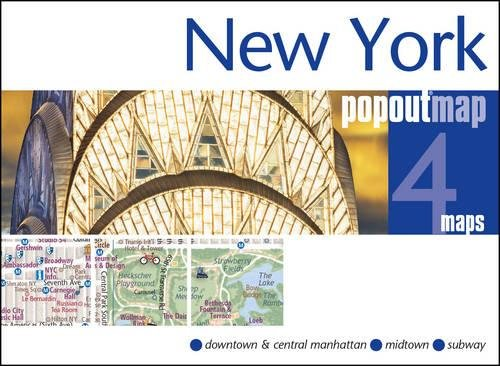 New York PopOut Map (PopOut Maps) (Nyc Map)