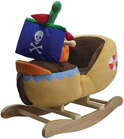 Schaukeltier Piratenschiff aus Stoff - Schaukelboot