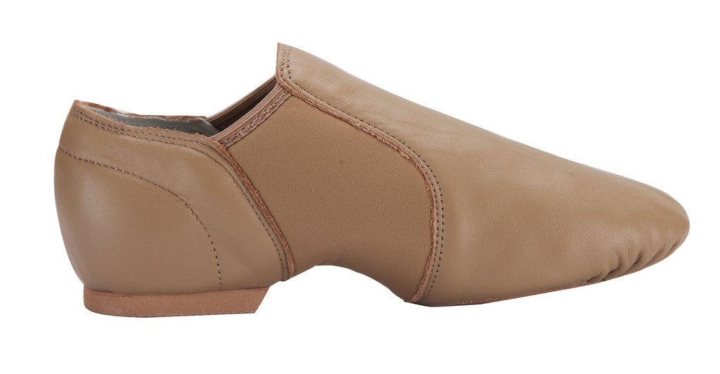 Tent Linodes Leather Upper Jazz Shoe Slip-on B012K20H6C 1/2 4.5M-Heel to Toe 8 1/2 B012K20H6C inches|Brown addb19
