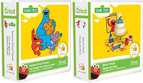 Cricut Cartridge Bundle: Elmo's Party Sesame Street & Sesame Street Friends by Cricut