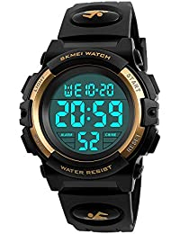 Boys Waterproof Outdoor Sports Watches,Skmei Electronic...