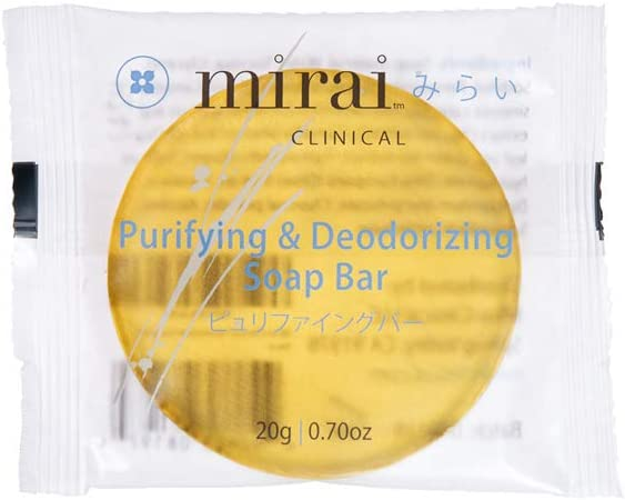 Mirai Clinical Barra de jabón de caqui 25g (tamaño de prueba ...