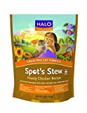 Halo Spot's Stew for Cats, Grain Free Hearty Chicken Recipe, 3lb bag, My Pet Supplies