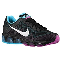 Nike Women's Air Max Tailwind 7 Black/Metallic Silver/Pr Pltnm/Dk Mgn Running Shoe 6 Women US