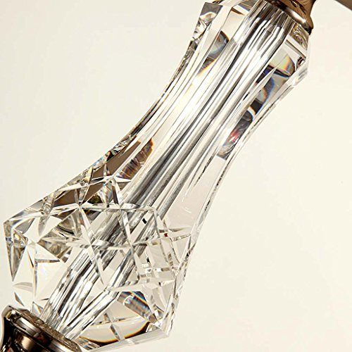 TIANTA-Table lamp Simple modern Nordic bedroom bedside lamp crystal table lamp luxury and warm ( Design : D ) by Dayweeky (Image #5)