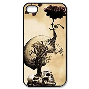 Skulls and Roses Hard Case Covery Skin for iphone 5c