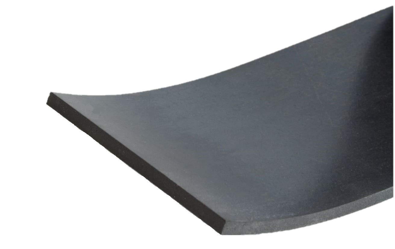 St/ärke 10 mm in verschiedenen Gr/ö/ßen w/ählbar 1000x80x10mm Gummistreifen