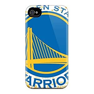 AlissaDubois iPhone 4 4s Protector Hard Cell-phone Case Provide Private Custom Vivid Golden State Warriors Series [HbX2476xxpg]
