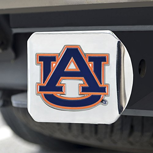 FANMATS NCAA Auburn Tigers Auburn Universitycolor Hitch - Chrome, Team Color, One Size ()