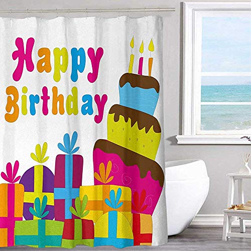 Door Panel Retainer Box - MKOK Hotel Shower Curtain 54