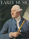 img - for Early Music : Lully & Rise of the Oboe; French Hautboy in London's Musical Life; Oboe in Venetian Republic 1692- 1797; Baroque Clarinet 1726-1762; Newly Discoverd Bassoon By Haka; book / textbook / text book