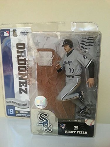 McFARLANE MAGGLIO ORDONEZ SER. 9 VARIANT SOX BLACK JERSEY by (Magglio Ordonez Game)