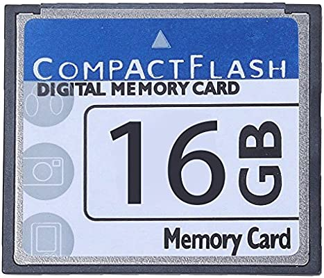 Summerwindy Professional Tarjeta De Memoria Compact Flash De 16GB ...