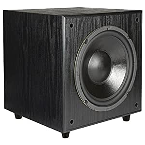 Pinnacle Speakers Digital Sub 100 10-Inch 100 Watt Front Firing Powered Subwoofer (Black) (Discontinued by Manufacturer)