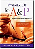 img - for PhysioEx 8.0 for A&P: Laboratory Simulations in Physiology book / textbook / text book