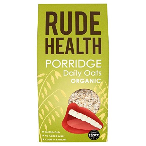 (Rude Health Organic Porridge Daily Oats 500g - Pack of 2)