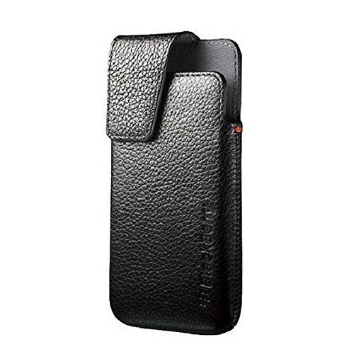 BlackBerry ACC-49273-301 Z10 Leather Swivel Holster - Original OEM - Retail Packaging - Black
