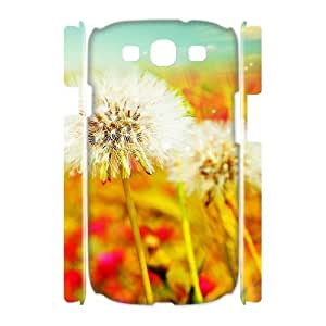 T-TGL(RQ) Samsung Galaxy S3 I9300 3D Customized Phone Case Dandelion with Hard Shell Protection