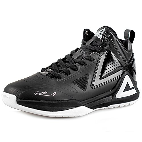 Peak Mens Tony Parker I Basketbalschoenen Zwart / Wit