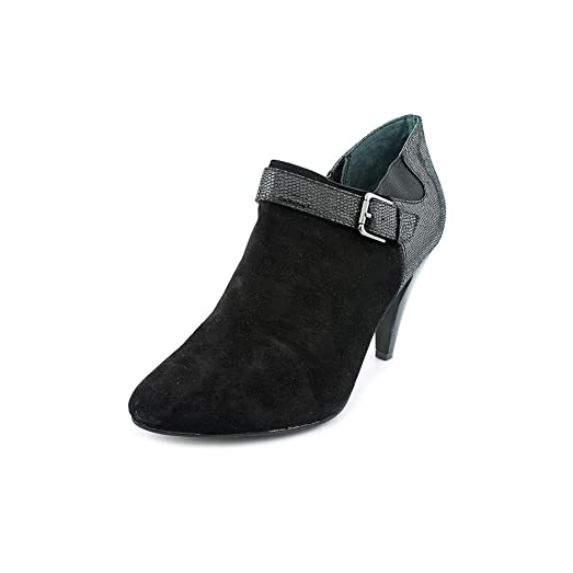 Womens Shirlee Heeled Booties Black Size 9.5