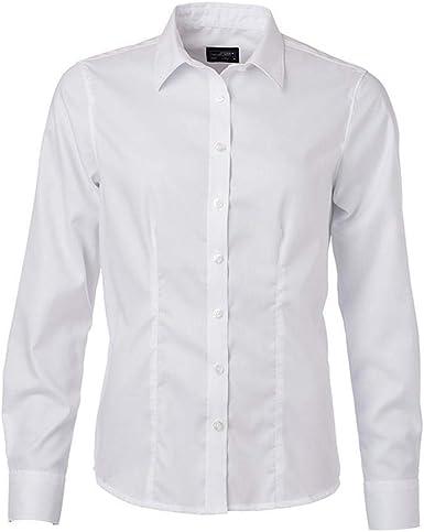 James and Nicholson - Camisa de Manga Larga Micro Sarga para ...