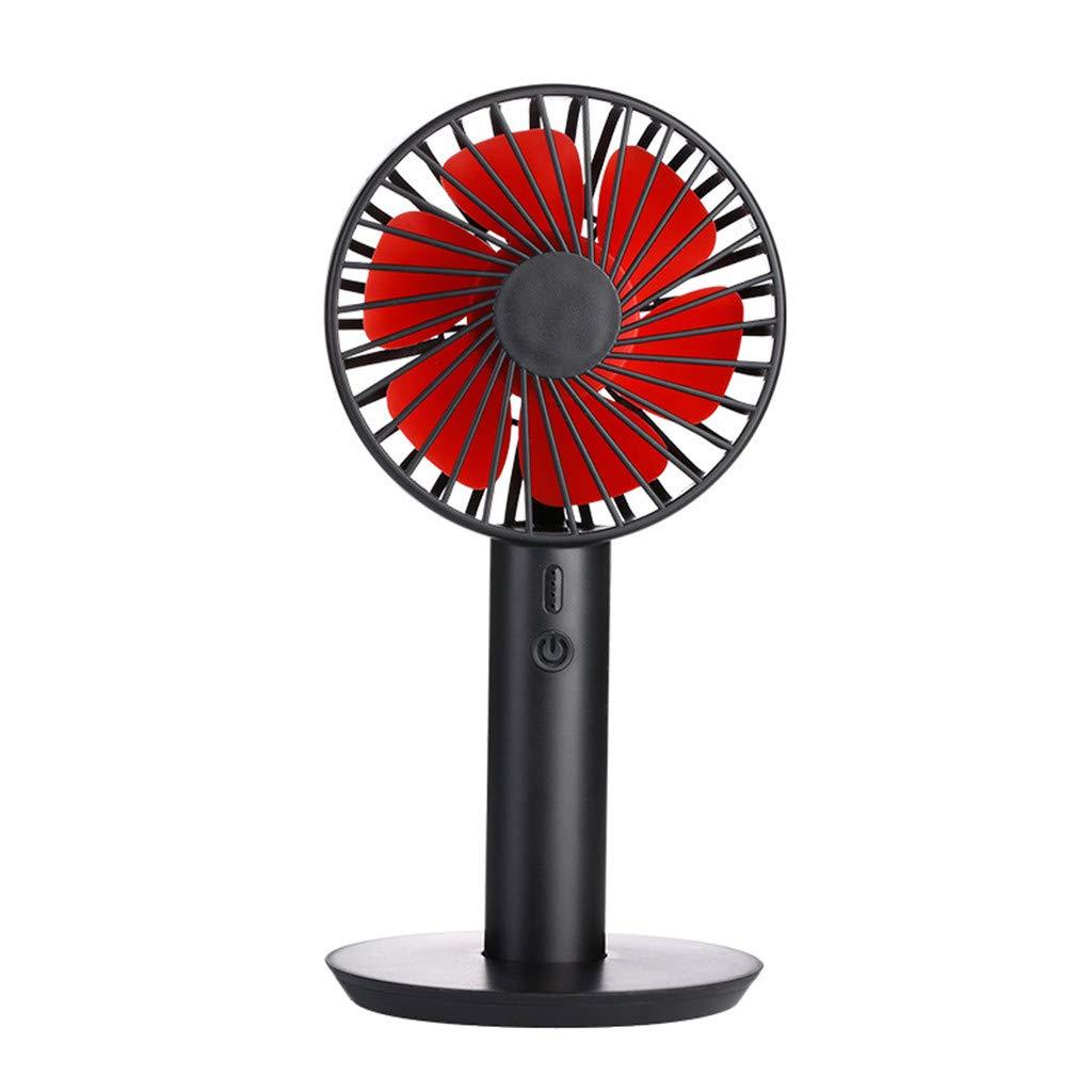 Office Outdoor Travel Home Silent Fan Smdoxi Portable Handheld Mini Fan Portable Desktop Fan with USB Charging