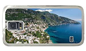 Hipster Samsung Galaxy S5 Case awesome positano italy PC Transparent for Samsung S5