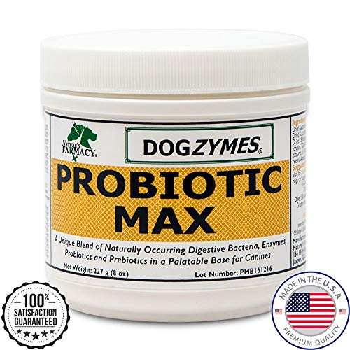 Dogzymes Probiotic Max for Pets, 8-Ounce For Sale