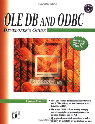 OLE DB and ODBC Developer's Guide by Wiley