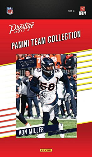 Miller Factory (Denver Broncos 2017 Prestige Factory Sealed Team Set with Von Miller, 4 Rookie cards plus)