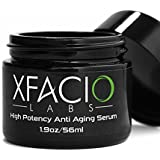 Best Anti Aging Serum Organic Natural Anti Wrinkle Cream With Peptides Retinol Amino Acids Plant Stem Cells Matrixyl Hyaluronic Acid Face and Eye Day & Night All In One Moisturizer For Women & Men Guaranteed!