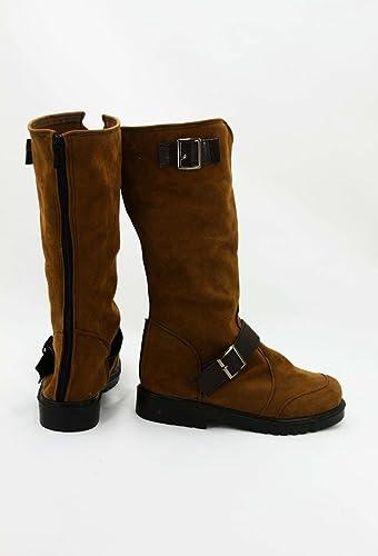 Telacos Noragami ARAGOTO Yato Cosplay Shoes Boots Custom Made Suede