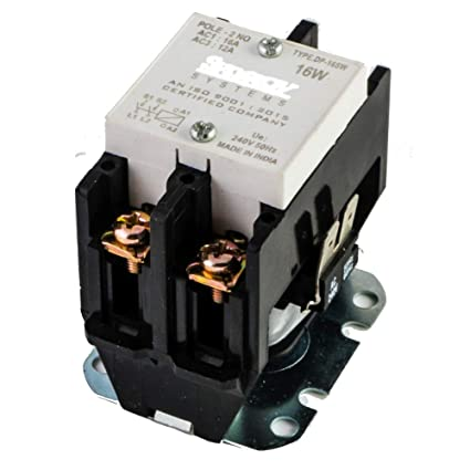 Peachy Tsktech Dp 2 Pole Contactor Relay For Power Switch Amazon In Home Wiring Cloud Pendufoxcilixyz