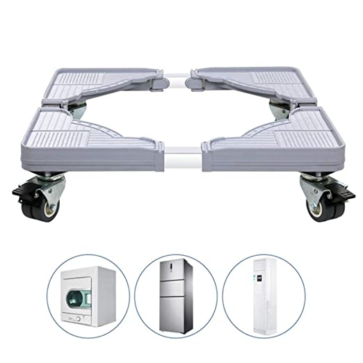 KNDJSPR Universal Refrigerador Stand Muebles Base MóVil Ajustable ...