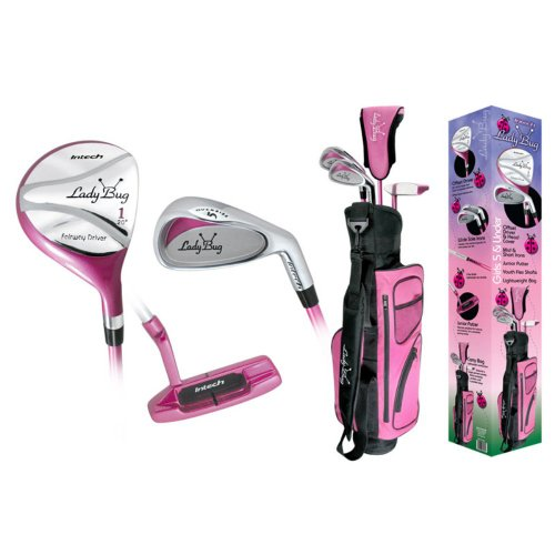 Intech Lady Bug 5 and under Girls One and Three Golf Combo, Outdoor Stuffs