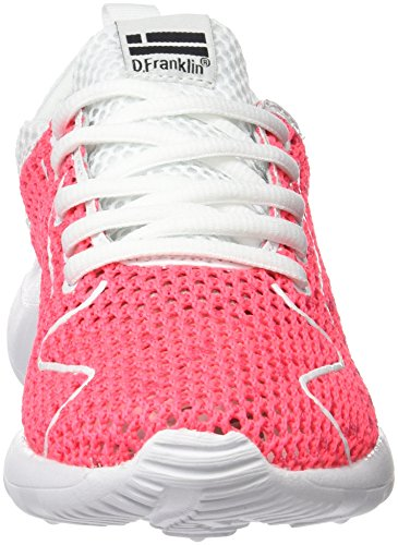 UK Franklin Fuxia Rose D Adulte Mixte Basses 7 Sneakers 5 HVK19201 vqdq0Z