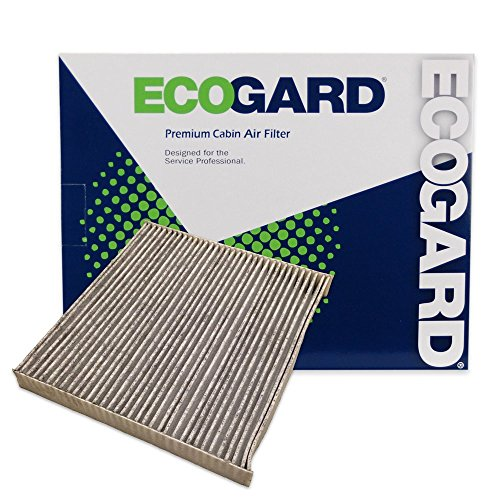 ECOGARD XC35519C Cabin Air Filter with Activated Carbon Odor Eliminator - Premium Replacement Fits Honda Accord, Civic, CR-V, Odyssey, Pilot / Acura MDX, TL, TSX, RDX / Honda Ridgeline / Acura TLX