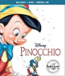 Cover Image for 'Pinocchio: Signature Collection [Blu-ray + DVD + Digital HD]'