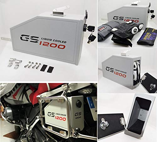 Decorative aluminum box for BMW R1200GS Adventure 2014-on, used for sale  Delivered anywhere in USA