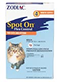 Zodiac Spot On Flea Control for Cats & Kittens, 4-Month Supply from Zodiac