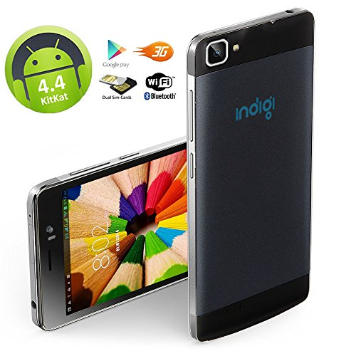 Indigi DualCore 3G Smart Phone 5.5 Capacitive 2-Sim Android