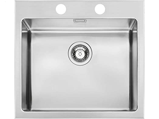 Smeg VQR50RS Sink Stainless Steel Satin Finish Cushion Fitted ...