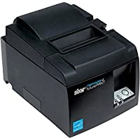 Star Micronics 39472110 Model TSP143IIIBI Thermal Printer, Auto-cutter, Bluetooth, IOS, Android/Windows, Power Supply, Gray