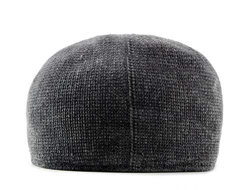 Moda Moda la la de Sombrero de y del de octágono de Sombrero otoño Sombreros qin GLLH Las D del del de hat D Bere señoras Invierno Casquillo Sombrero gUAqSw