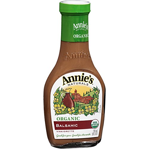 Annie's Organic Gluten Free Balsamic Vinaigrette Dressing 8 fl oz Bottle (Balsamic Dressing Vinaigrette)