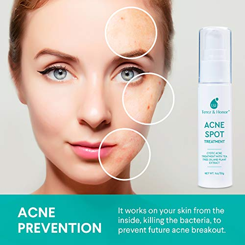 Acne Spot Treatment for Acne Prone Skin - Treats Cystic Acne, Advanced Acne Removal, Fast-Acting, Pimple Repair with Tea… 5