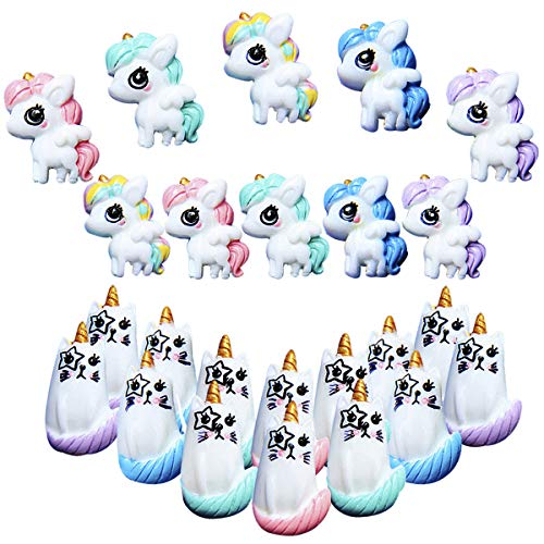 - PartyYeah 27Pcs Unicorn Cat Slime Charms Resin Flatback, Ultra Slim Sweety Candy Color Girls Silicone Phone Decor, DIY Homemade Decor Craft Making Slime Beads for Ornament Scrapbook DIY Crafts