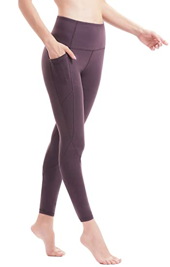 1e36db3e1134 Amazon.com  AFITNE Women s High Waist Yoga Pants with Side Inner Pockets