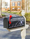 Team Sports America NFL Oakland Raiders 2MBC3822Oakland Raiders, Mailbox Cover, Black